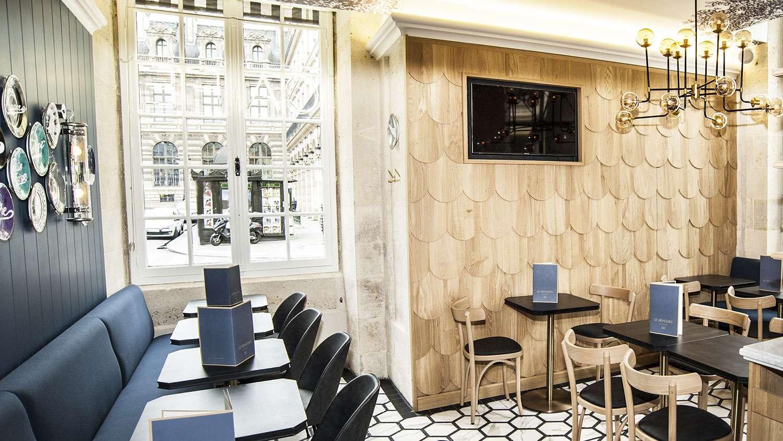 restaurant le nemours paris. Black Bedroom Furniture Sets. Home Design Ideas